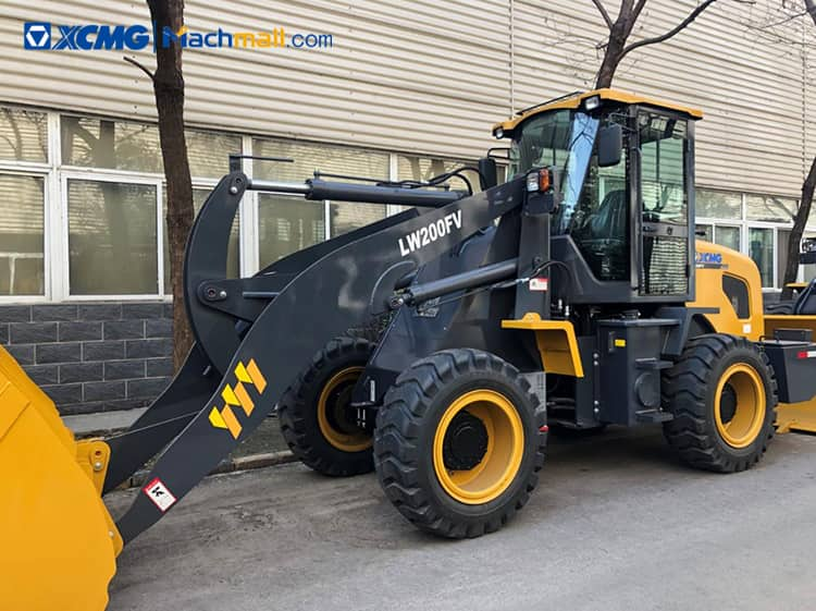 2 ton XCMG mini wheel loader LW200FV for sale