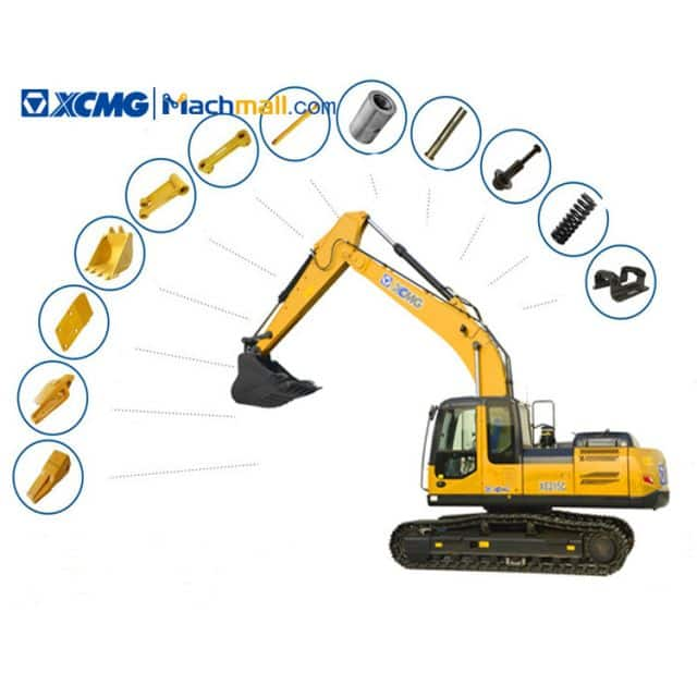 Consumable Spare Parts List of XCMG XE215C Excavator