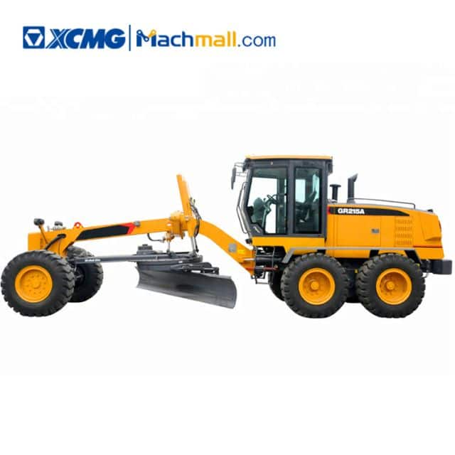 XCMG official 215HP road graders GR215A with manual for sale