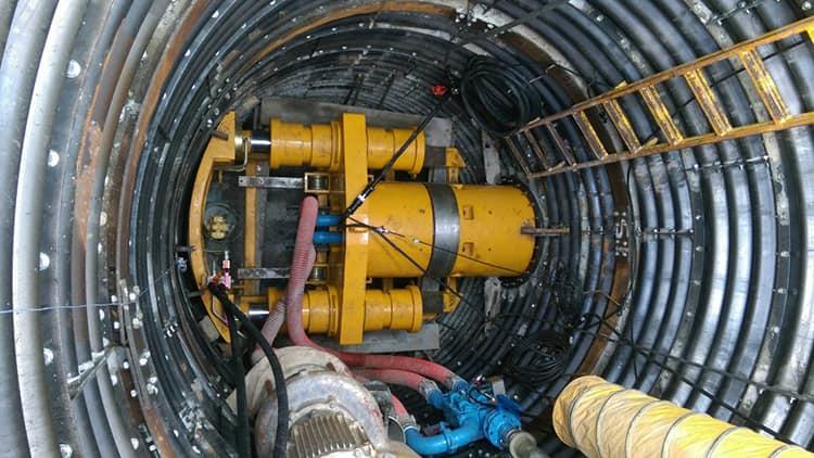 XCMG 600mm Hard Rock Pipe Jacking Tunnel Boring Micro Tunneling Machine XDN600