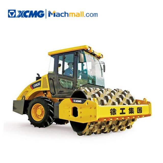 XCMG official 8t CV83U hydraulic road roller price