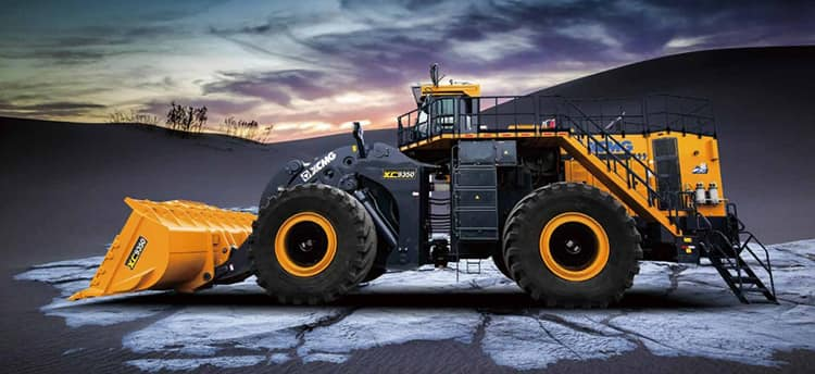 XCMG Official XC9350 China Brand New 35 Ton Big Wheel Loader for Mining