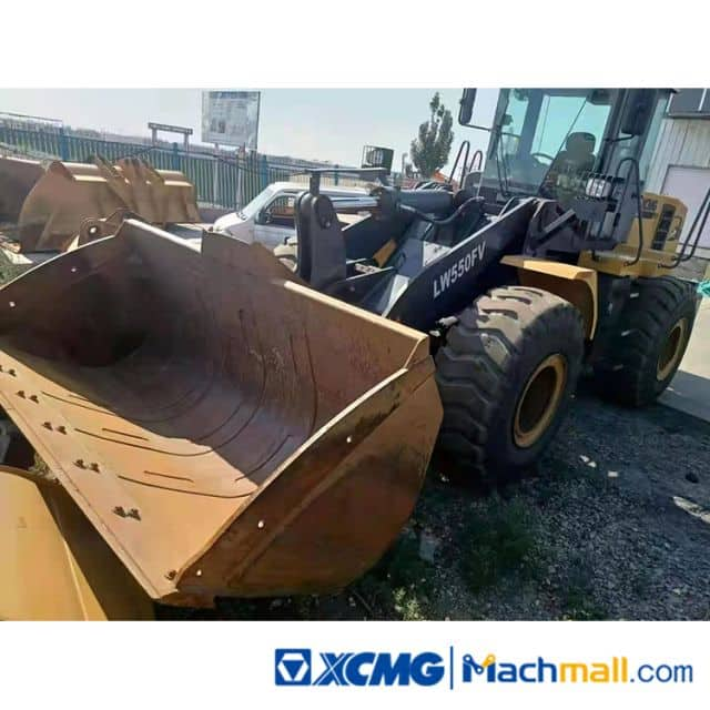 XCMG 5t LW550FV Used Wheel Loaders For Sale