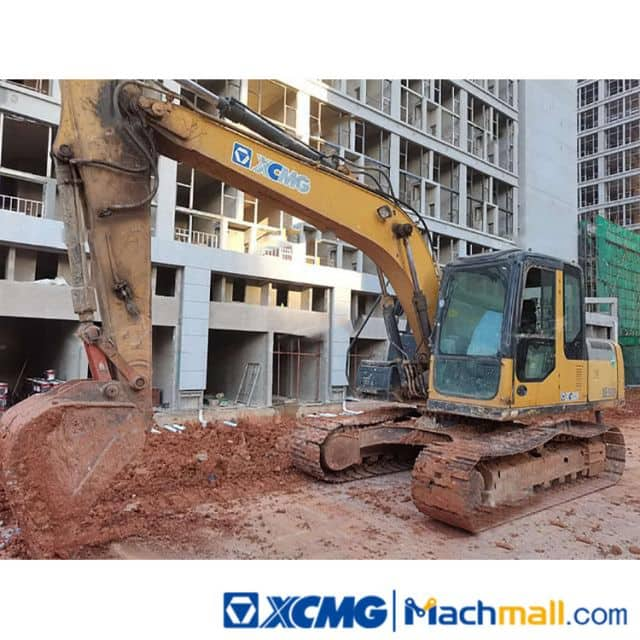 XCMG Backhoe Excavator 15 Ton XE150D Cheap Use Excavator For Sale