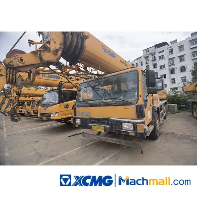 XCMG 20ton XCT20L5 Used Telescopic Boom Truck Cranes For Sale