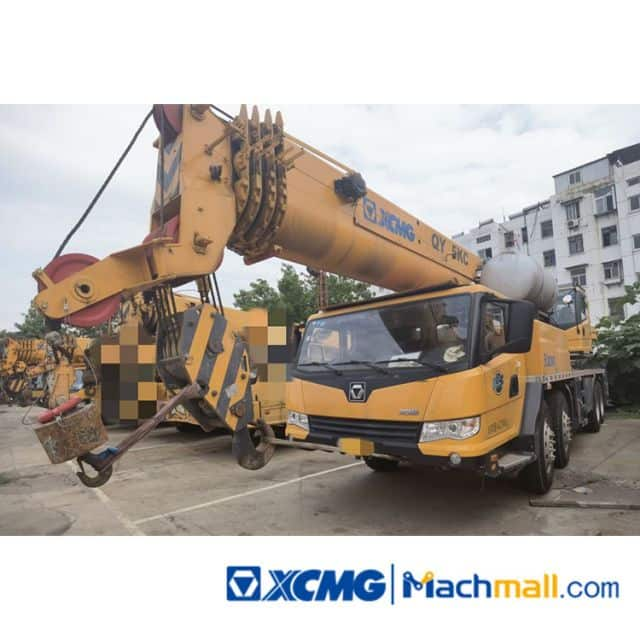 XCMG 55on QY55KC 2017 Used Hydraulic Truck Cranes For Sale