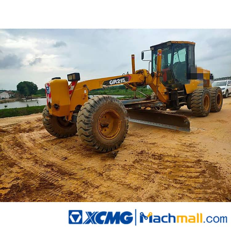 XCMG 215hp GR215 2014 Used Motor Graders For Sale