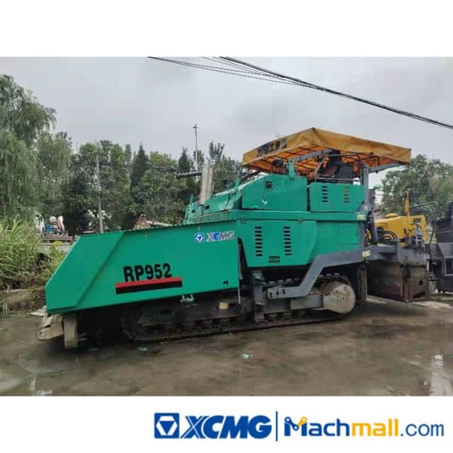 XCMG RP425L 2012 Used Small Tire Hydraulic Concrete Paver Machine For Sale