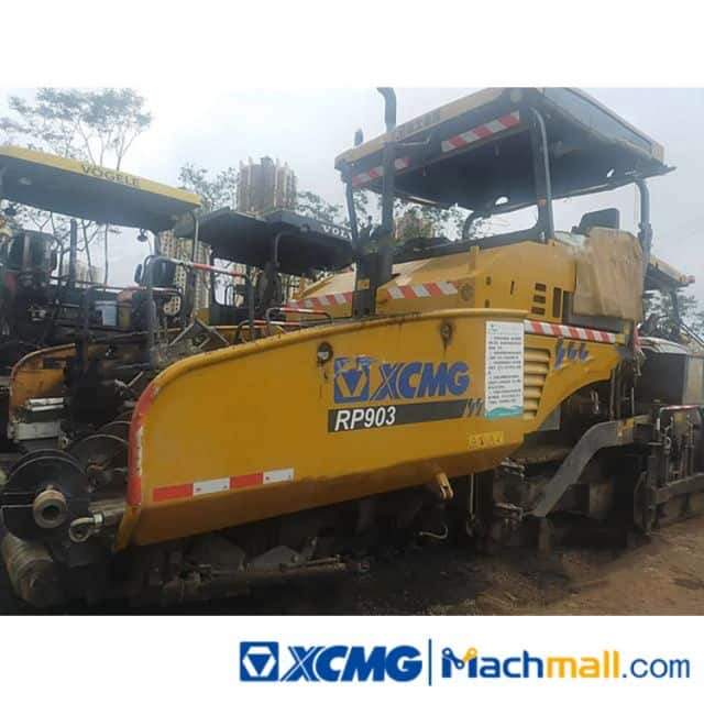 XCMG RP903 2020 Used Road Concrete Asphalt Paver Machine For Sale