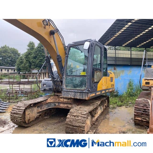 XCMG 13t XE135D Used Hydraulic Crawler Excavators Machine For Sale