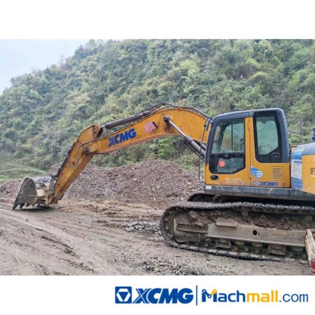 XCMG 37t XE370D 2018 Used Excavators Machine For Sale