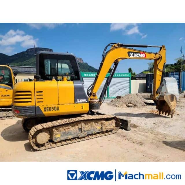 XCMG 6.5t XE65DA Used Small Excavator For Sale