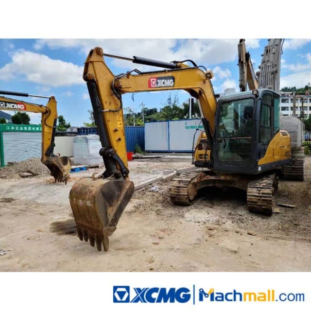 XCMG 7.5t XE75DA 2020 Used Small Excavator For Sale