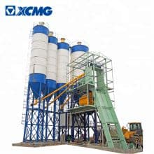 XCMG 240m3 concrete batching plant HZS240VD China environmental protection concrete mix plant price