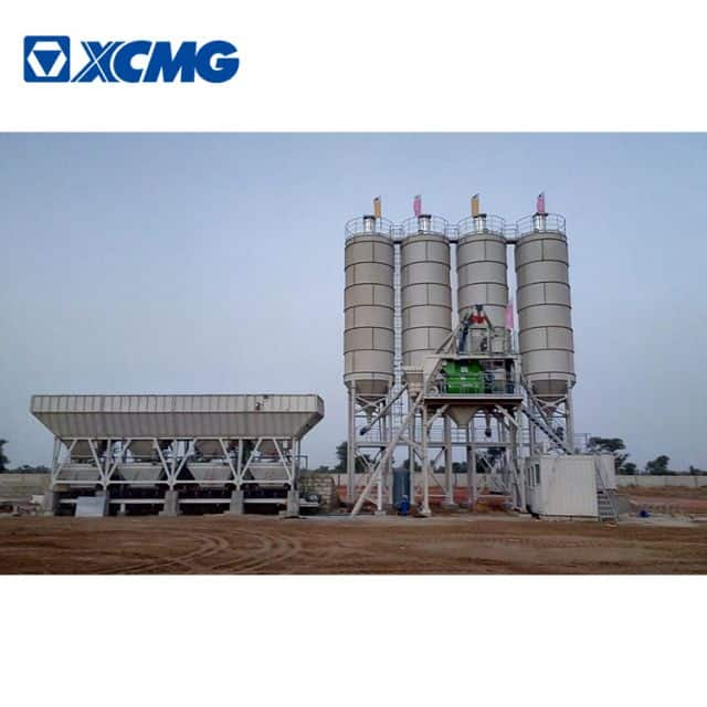 XCMG schwing environmental protection concrete batching plant HZS180VD 180m3 concrete plant price