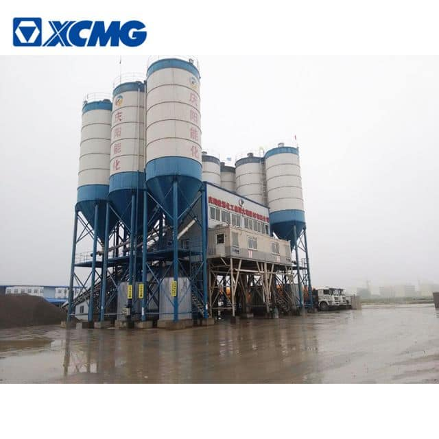 XCMG schwing official 90m3 mobile concrete batching plant HZS90VG China new concrete plant price