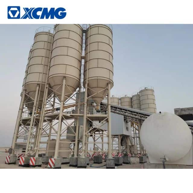XCMG concrete batching plant HZS270VD environmental protection 270m3 concrete mixer plant for sale