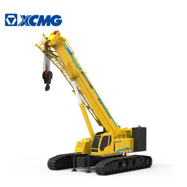XCMG Official 40 ton small Crawler Crane XGC40T Telescopic Crane Crawler with parts for sale
