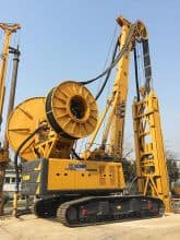 XCMG official trenching machine Trench Cutter Piling Machine XTC80-85 for sale