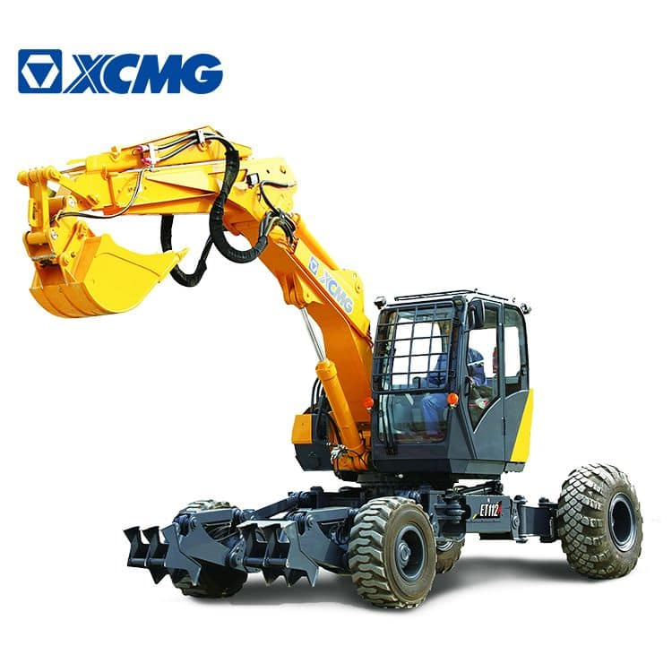 XCMG Official ET110 China 10 Ton Walking Wheel Excavator For Sale