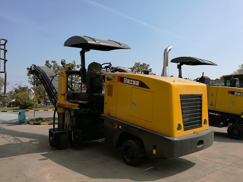 XCMG official 1020mm XM101K mini road cold planer asphalt milling machine price