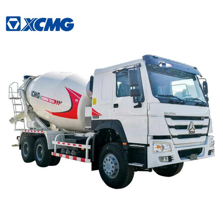 XCMG Factory G12K 12m3 Concrete Mixer Truck with Dimensions Price