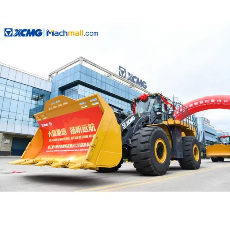 LW700KN loader machine   XCMG 226 kw 6 m3 7 ton wheel loader price