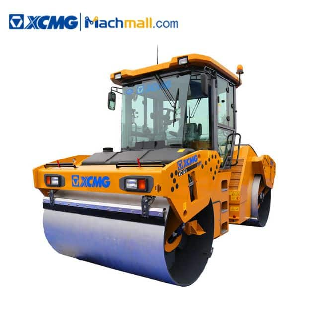 XCMG official 12 ton double wheel roller XD123 price