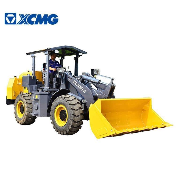 XCMG 2 ton mini underground mining wheel loader machine ZL20E(J) price