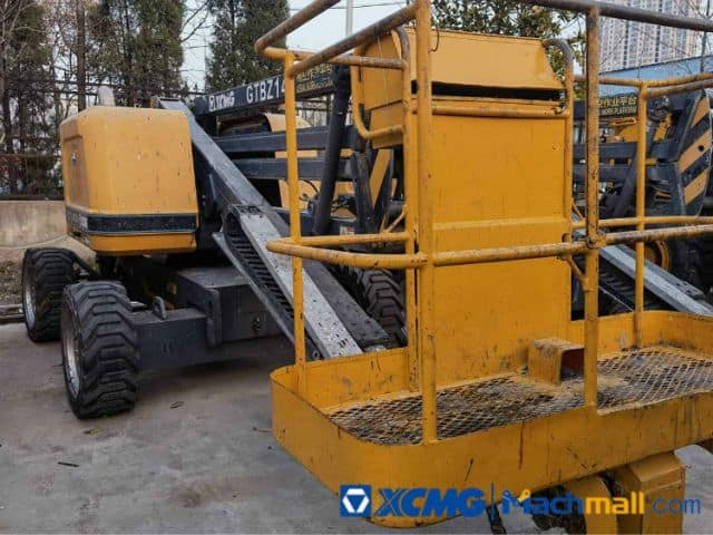 XCMG Offical 10m GTBZ14 2017 Old Boom Lift Machine For Sale