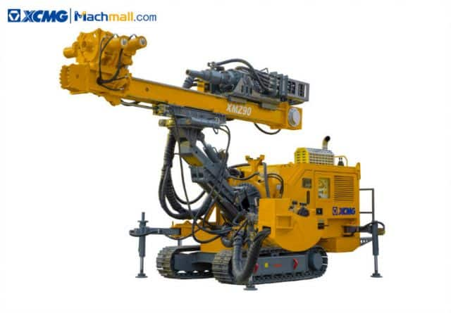 XCMG 93kW 8t Multifunction Double Rotary Head Crawler Anchor Drilling Rig Machine XMZ90 price
