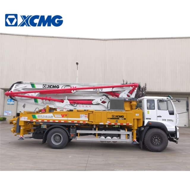 XCMG Factory Concrete Machine HB37V 37m Small Cement Pump for Sale