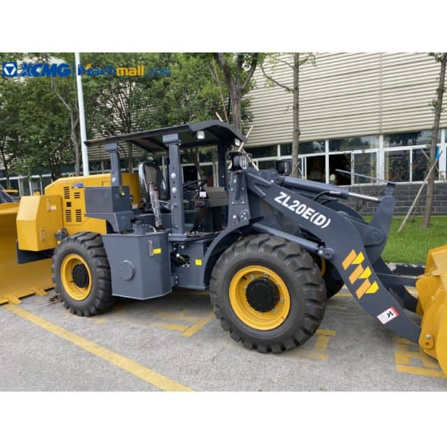 XCMG Small Underground Loader Equipment for Hard Rock Mining