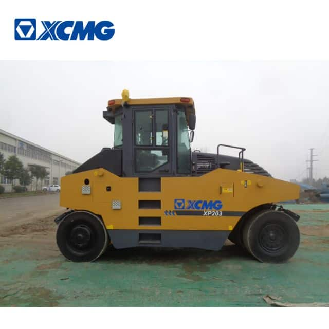 XCMG 20 ton construction machine pneumatic tyre road roller XP203 price