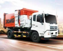 XCMG Official 20 Ton Roll On Roll Off Garbage Container Truck With Howo Chassis