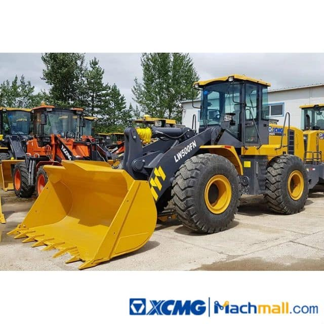 XCMG Used Wheel Loader 5 Ton LW500FN Price