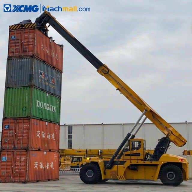 China XCMG 10 ton 16m Reach Stacker for 20ft 40ft Container Price