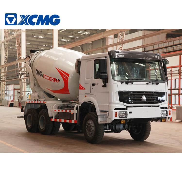 XCMG Manufacturer Concrete Mixing Truck G08K 8 Cubic Meters Cement Mixer Truck Price