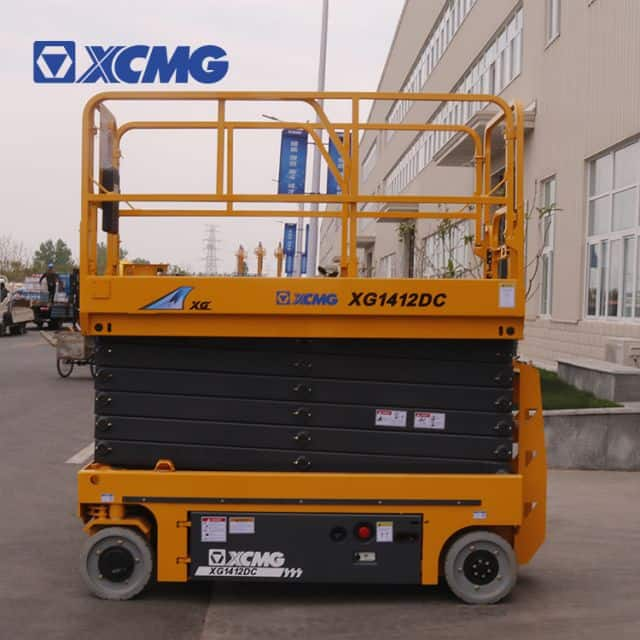XCMG official 14m electric aerial lift platform XG1412DC price