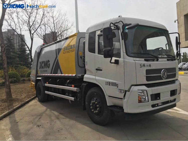 XCMG 12 cbm XZJ5180ZYSD5 Dump Garbage Truck In Stock