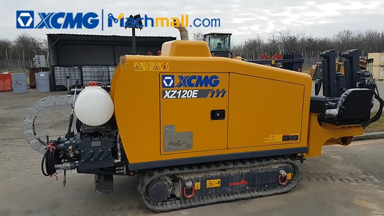 XCMG HDD XZ120E Horizontal Directional Drill Rig machine for sale