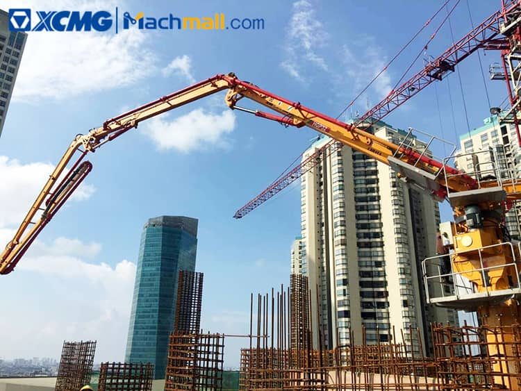 China XCMG concrete placing boom HGP32 with SCHWING technology for sale
