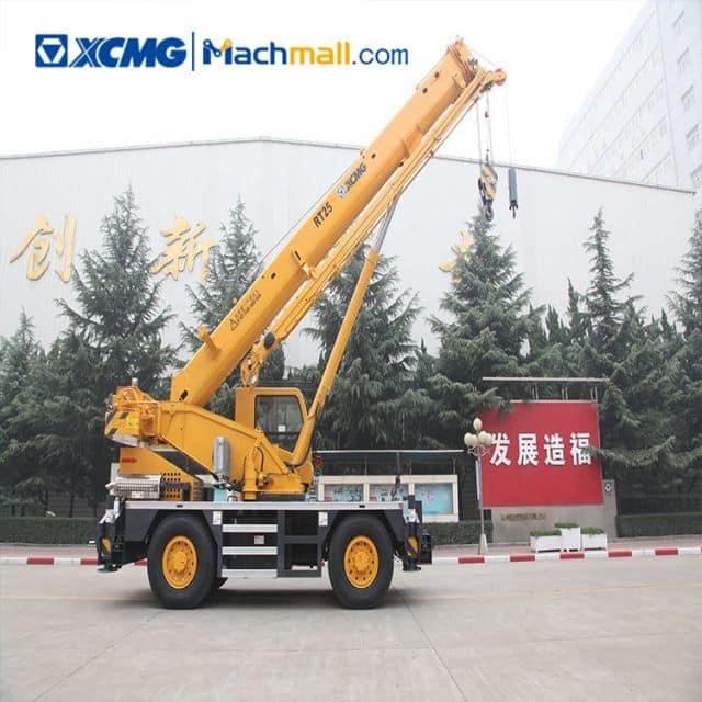 XCMG original manufacturer rough terrain crane 25t RT25 price