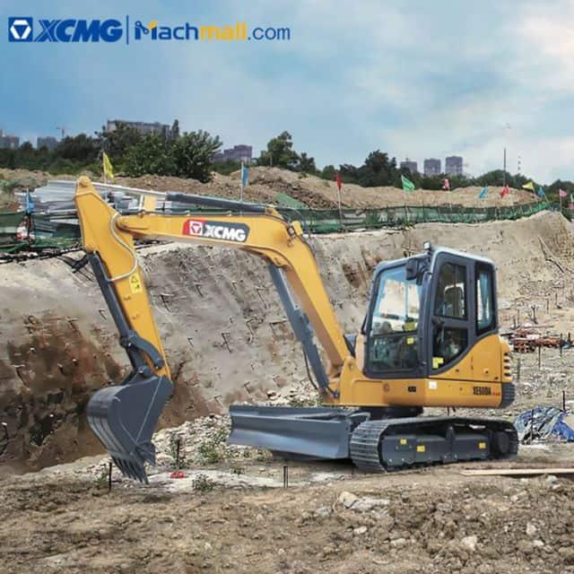 Small excavator XCMG XE75DA PLUS 7.5 ton hydraulic machine for sale