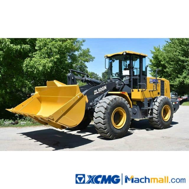 XCMG Used Bucket Loaders 5 Ton ZL50GN Wheel Loader For Sale