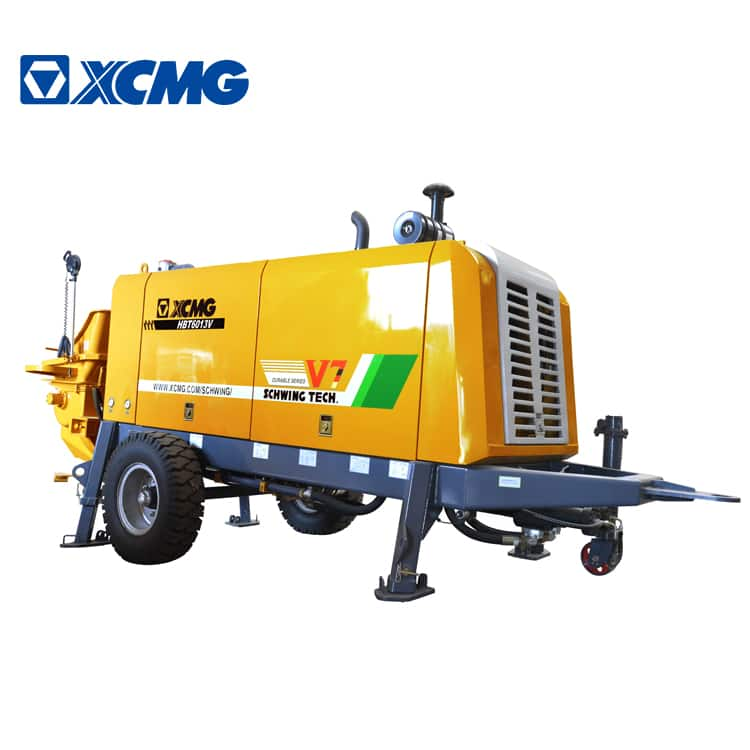XCMG Schwing Official HBT6013K China Small Portable Concrete Pumps Machines for Sale