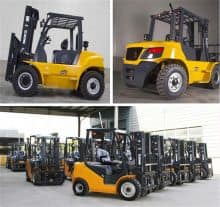 XCMG new diesel forklift FD45T 4.5ton for sale