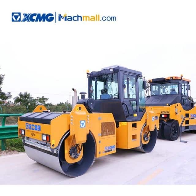 8 ton XCMG double drum asphalt compactor XD82 for sale