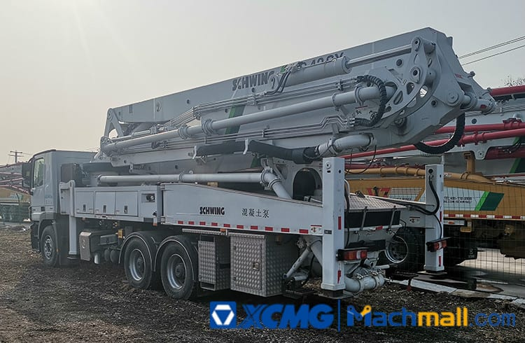 XCMG Concrete Machinery HB43 Used Truck Mounted Concreted Pump For Sale
