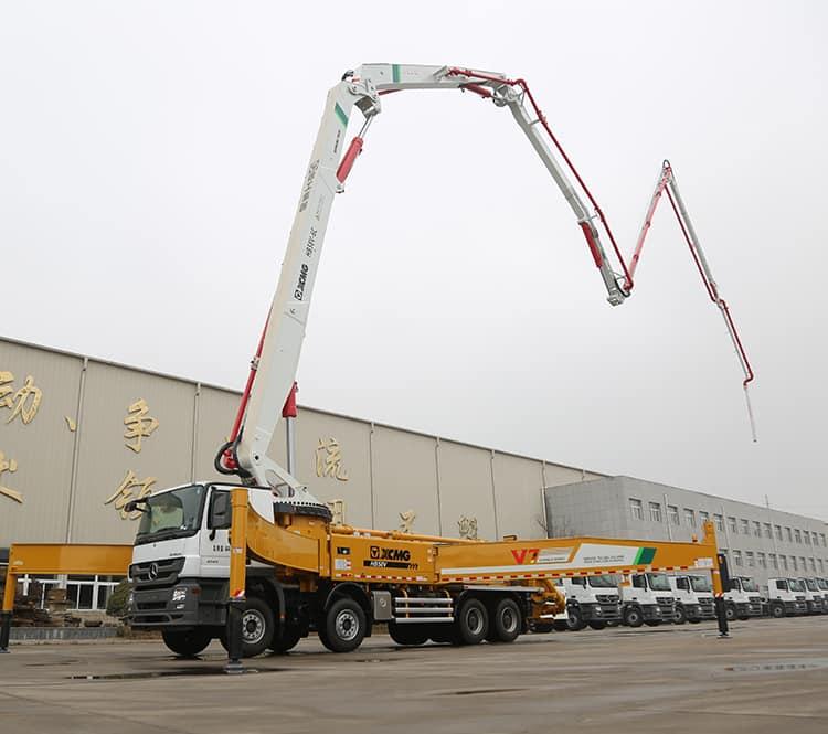 XCMG Original Manufacturer HB58V 60m Truck Cement Concrete Pump with Best Price